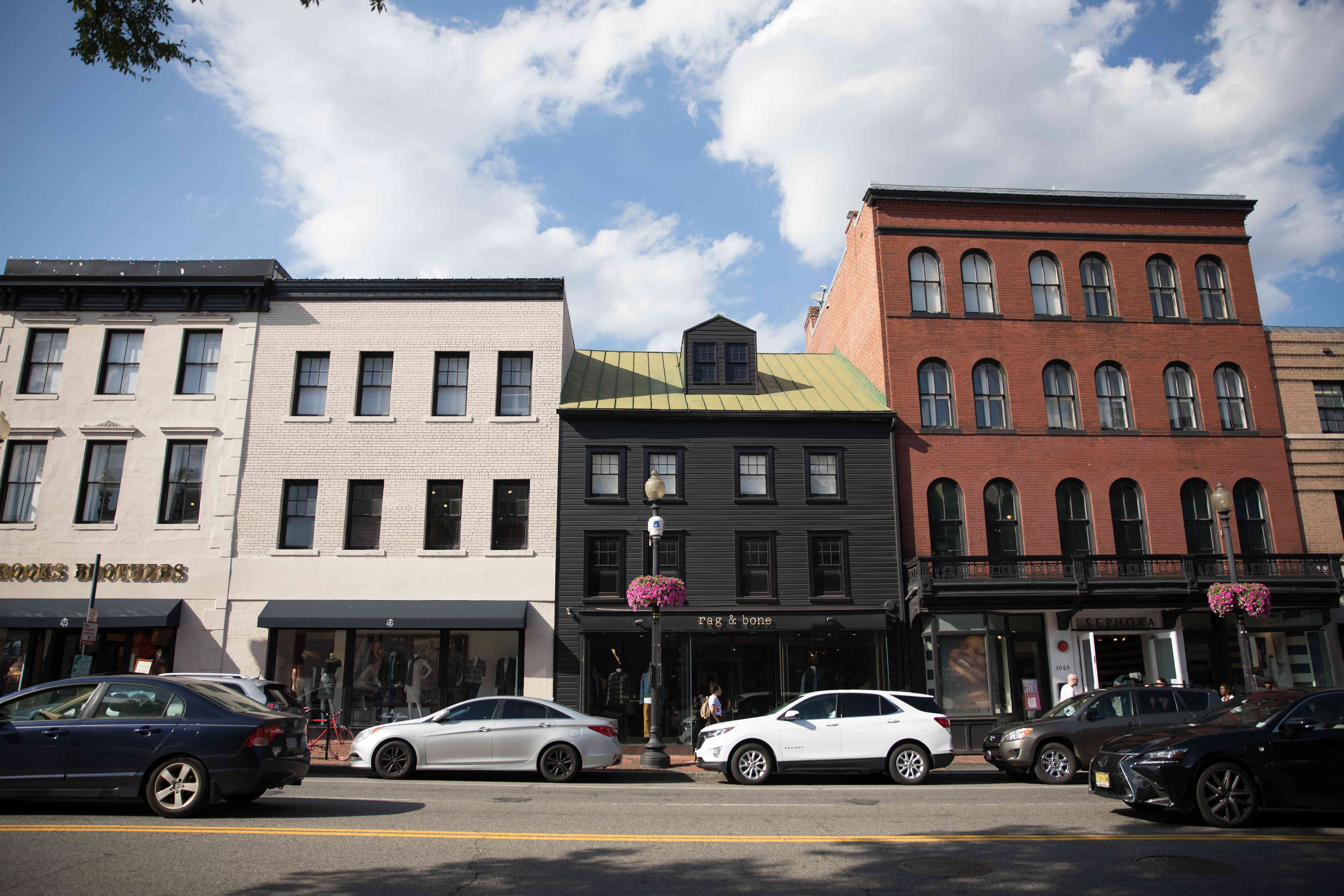 Boutique shops in Georgetown