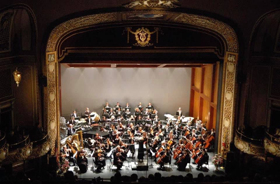 The Maryland Orchestra performing