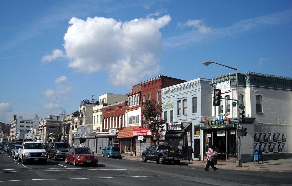 Calle H en Washington DC