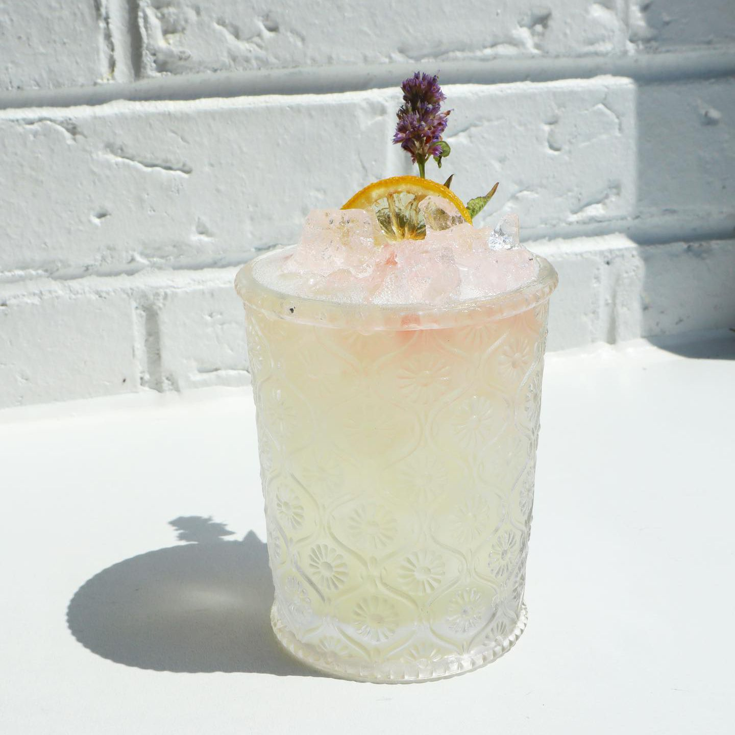 A summer sherry cocktail from Brenner Pass