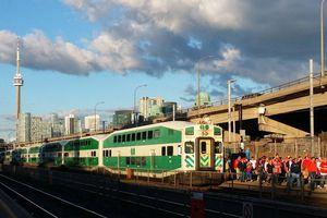 GO Train in Toronto