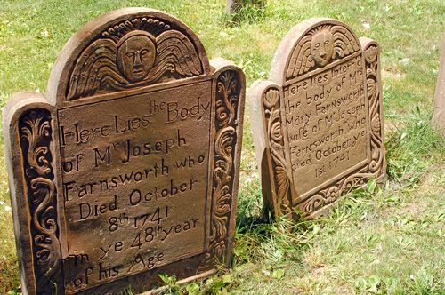 Hartford Ancient Burying Ground Photo - Old Cemetery Photo