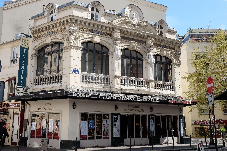 Montparnasse theatre, Paris