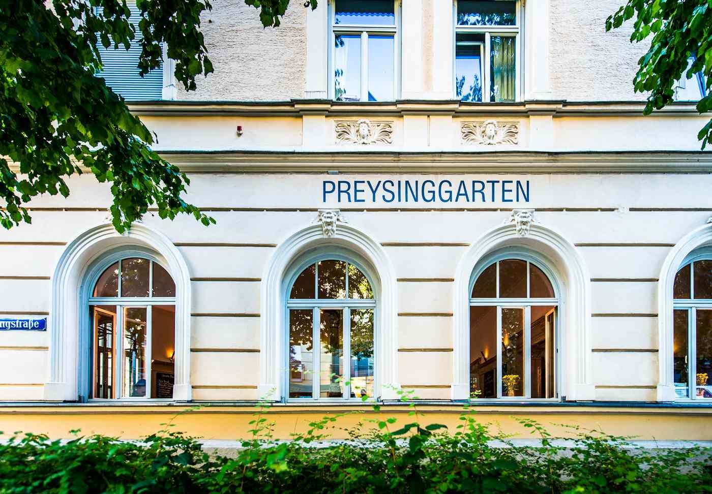 Preysinggarten in Munich
