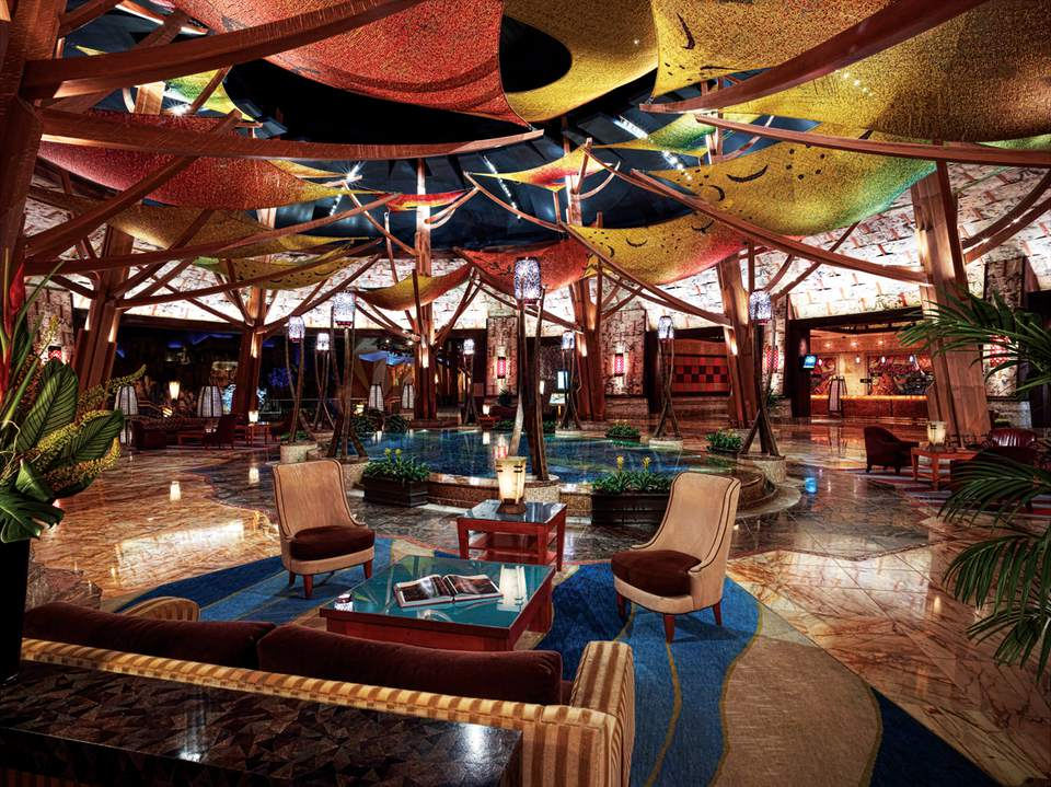 Mohegan Sun Info And Reservations Hotel Lobby