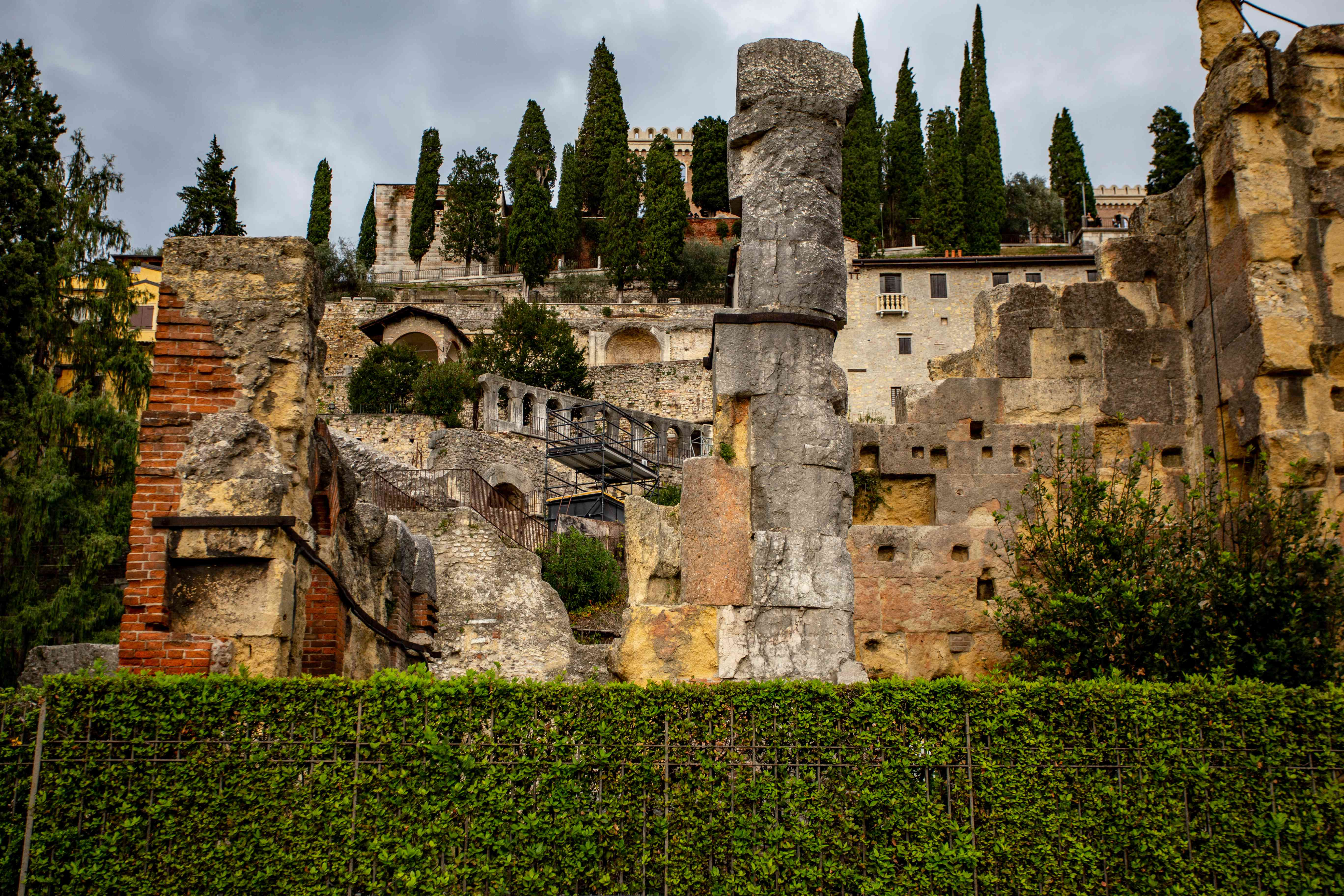 Roman Theater and Archaeological Museum in Verona