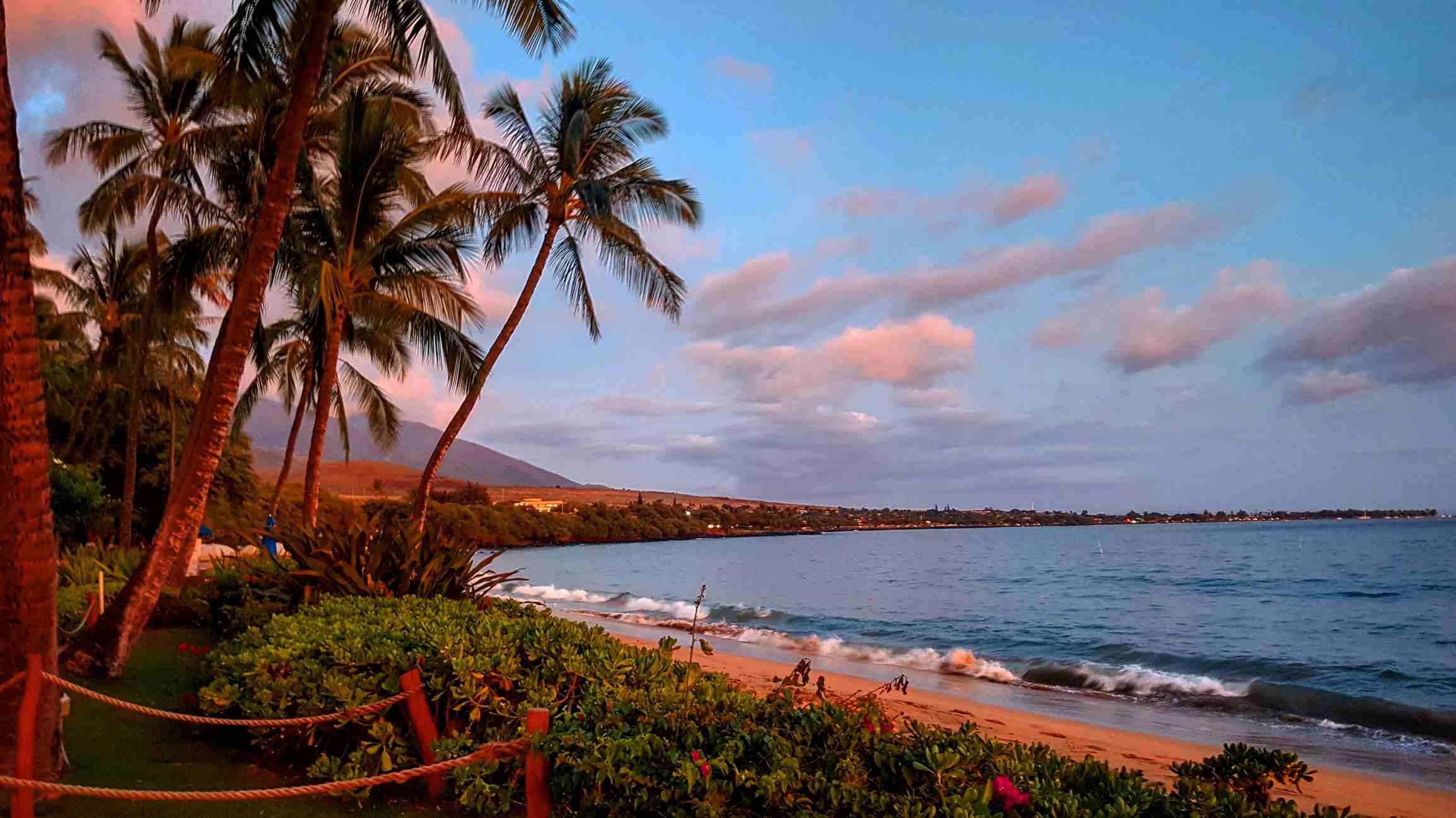 Sunset at Lahaina, Hawaii