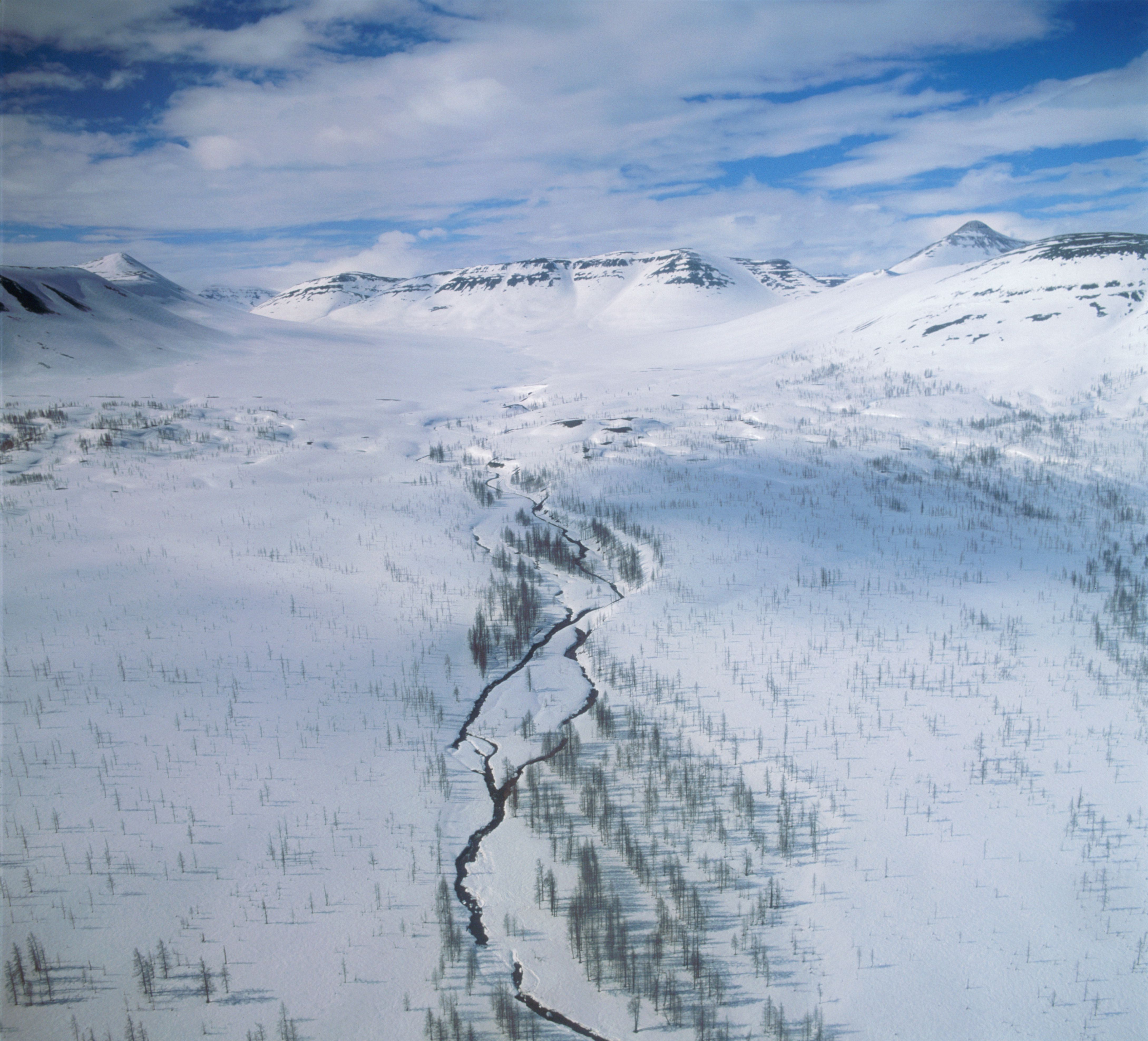 Russland, Sibirien, in der Nähe von Norilsk, Berge von Putorana Plateau