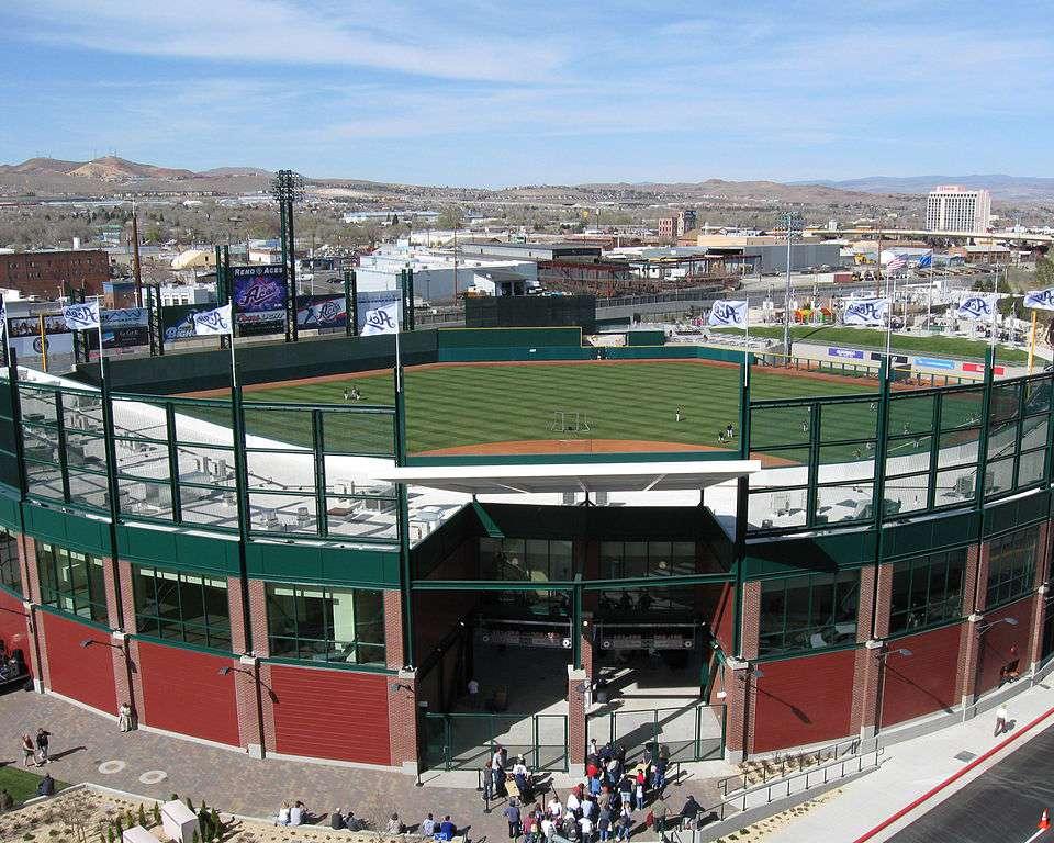 Aces ballpark Reno