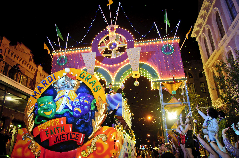 Mardi Gras in Galveston