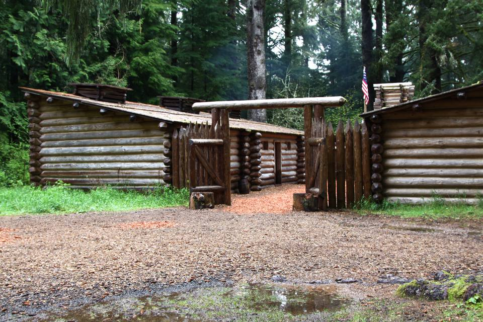 Fort Clatsop In Oregon