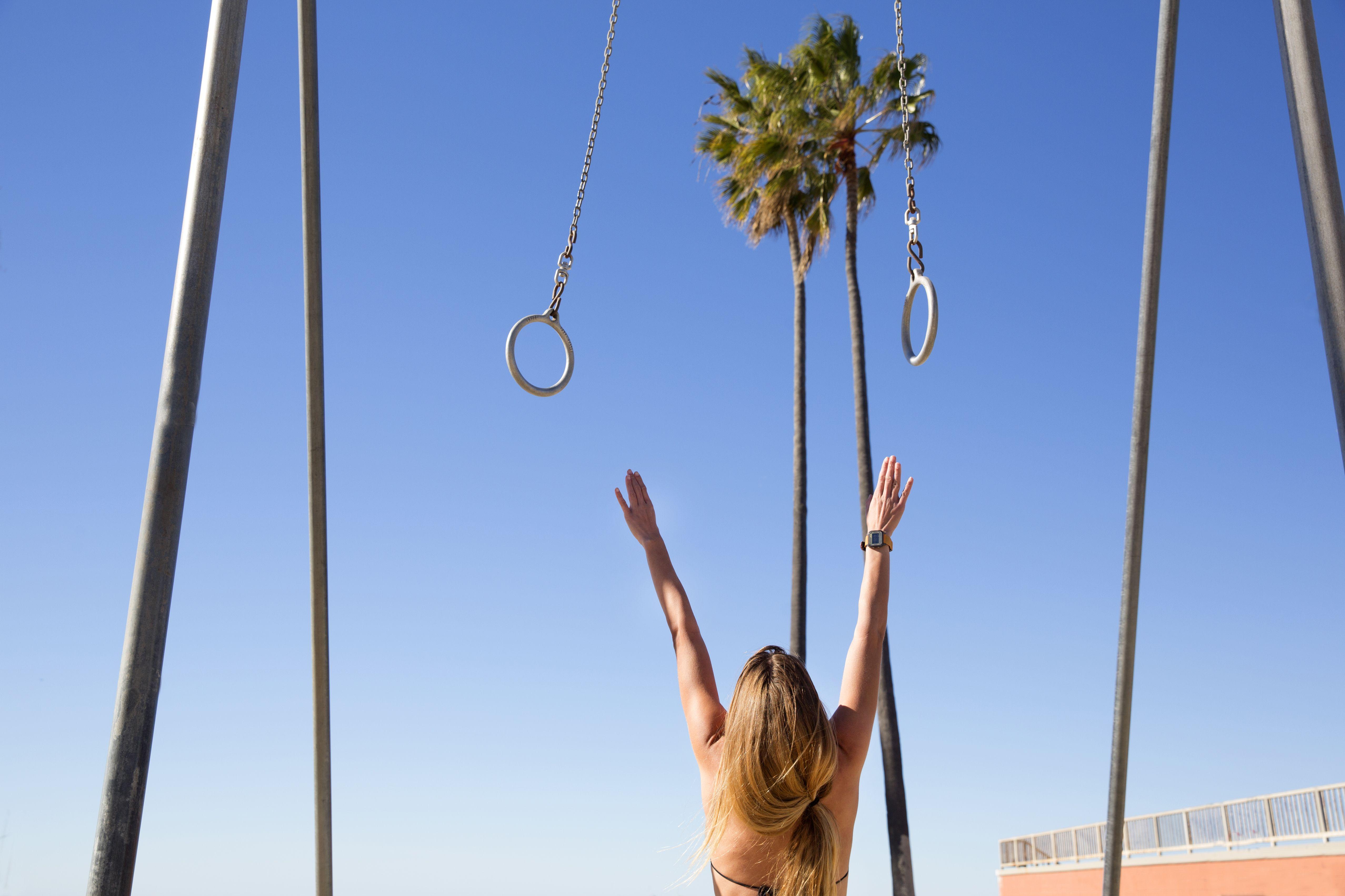 Venice beach exercise