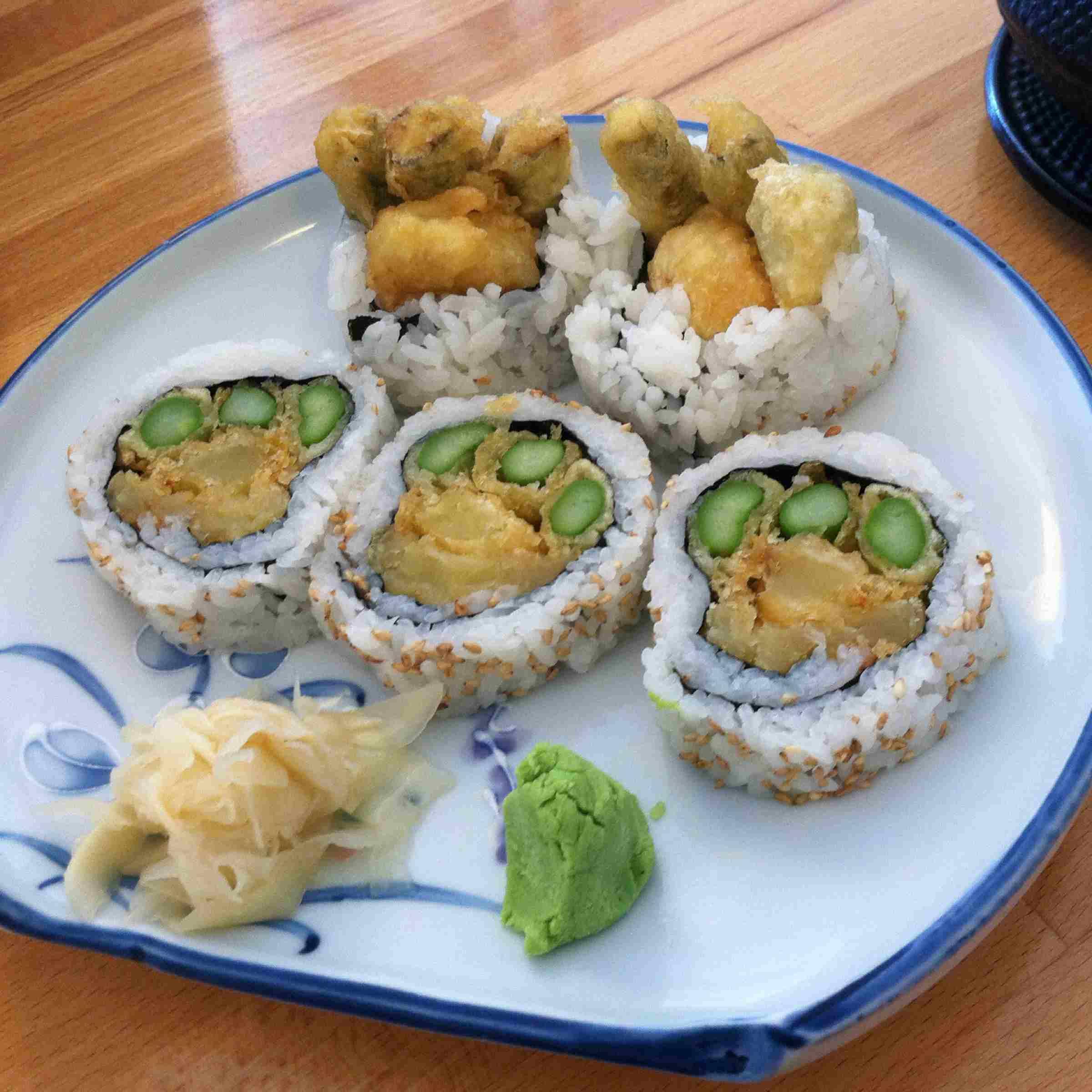 Shattuck Roll @ Cha-Ya Vegetarian Japanese Restaurant