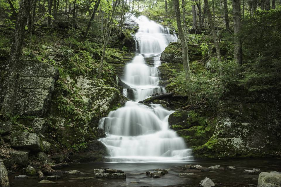 Buttermilk Falls, PA, Delaware Water Gap