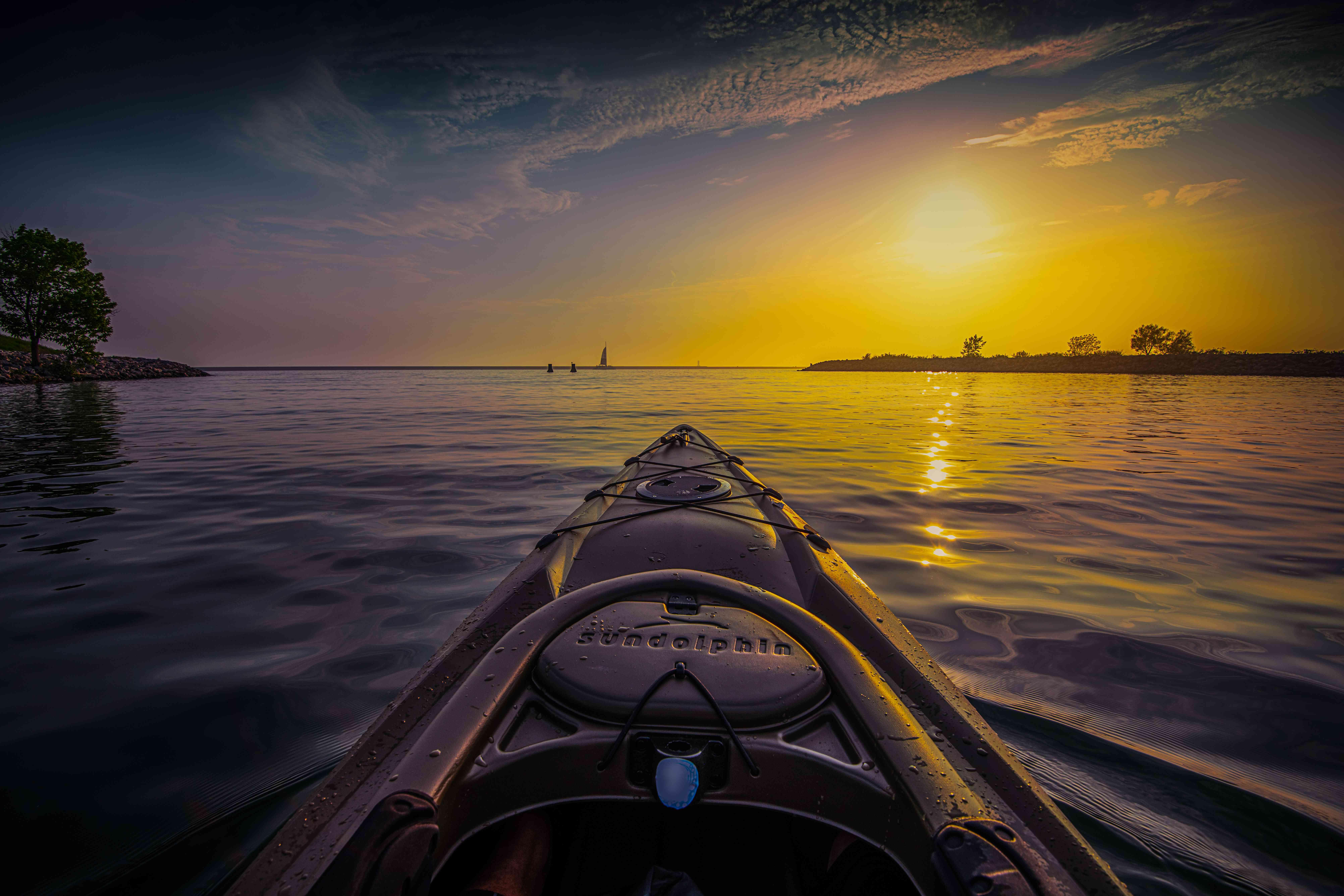 Kayaking Wilkeson Pointe Buffalo Outer Harbor