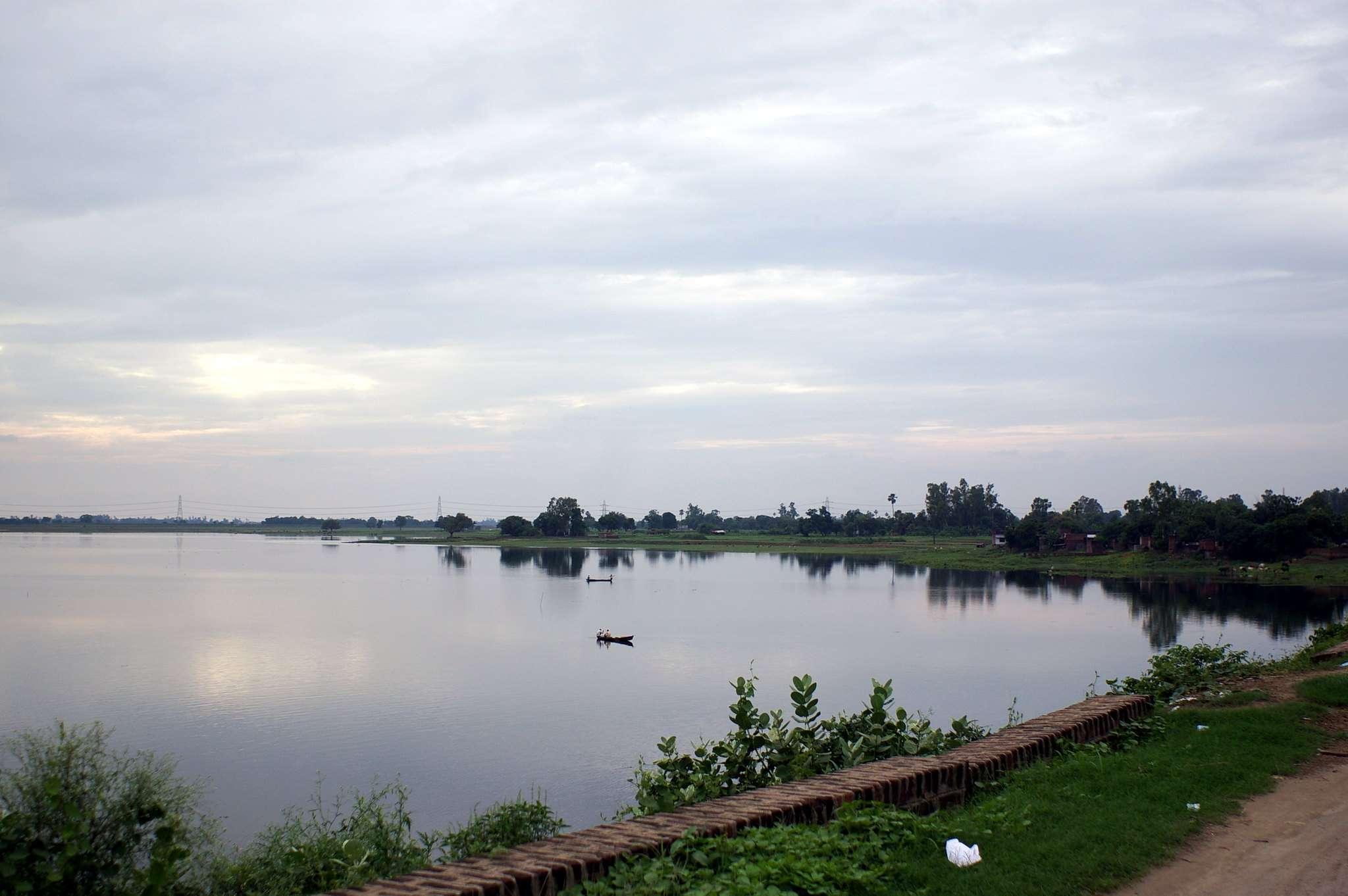 Ramgarh Lake in Gorakhpur