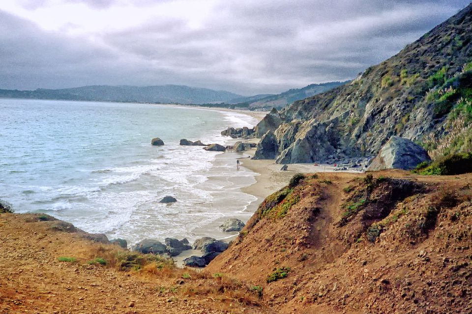 View of Red Rock Beach