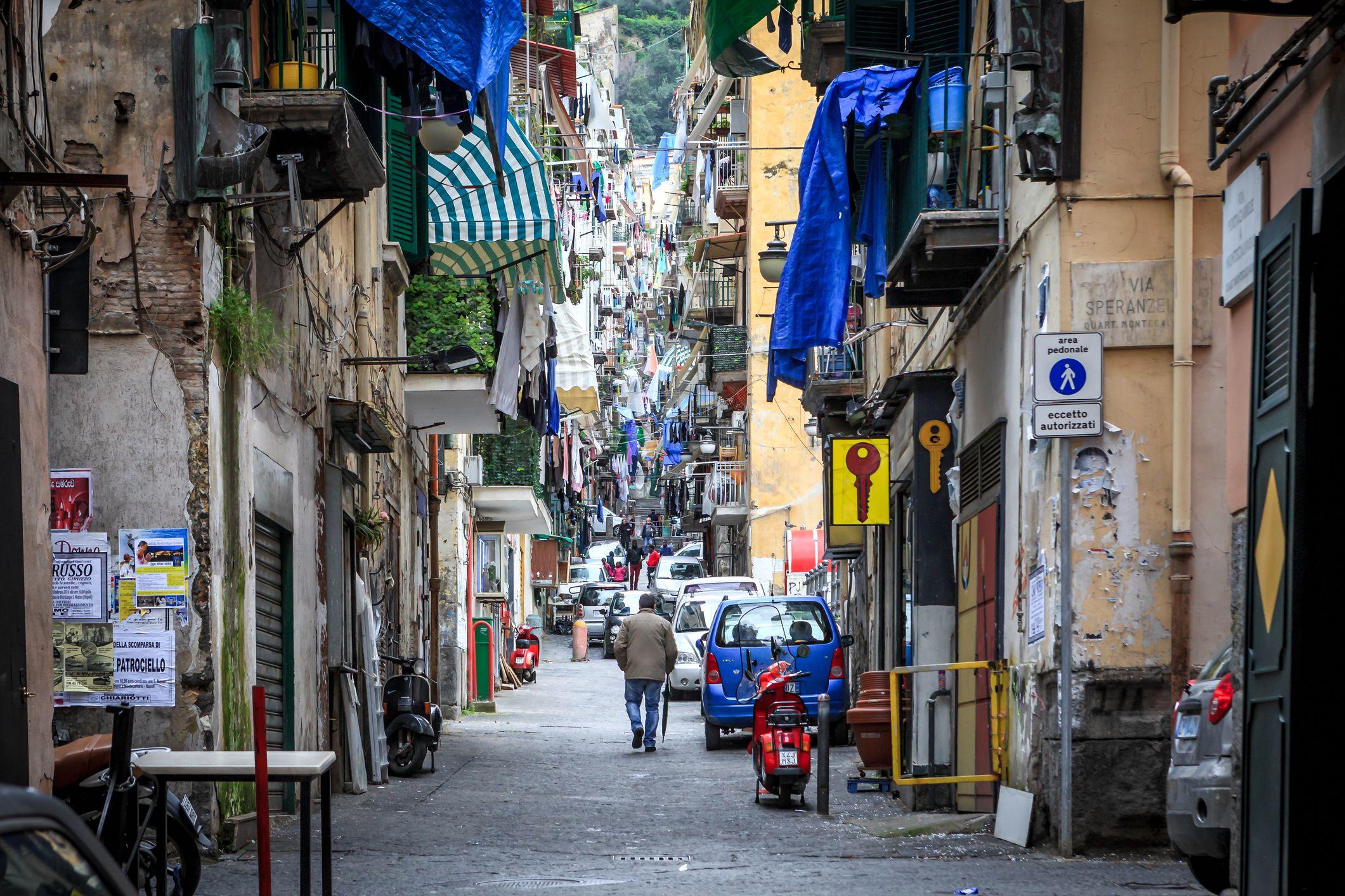 Neighborhoods of Naples, Italy