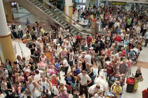 Crowded Terminal