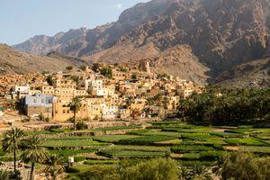 The Picturesque Village of Balad Sayt, Al-Hajar Mountain, Oman