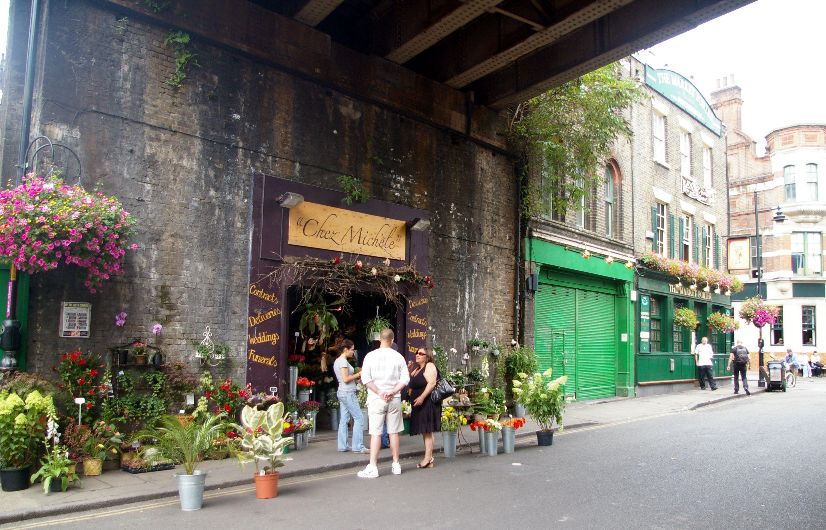 Leaky Cauldron, Stoney Street, Borough Market, London