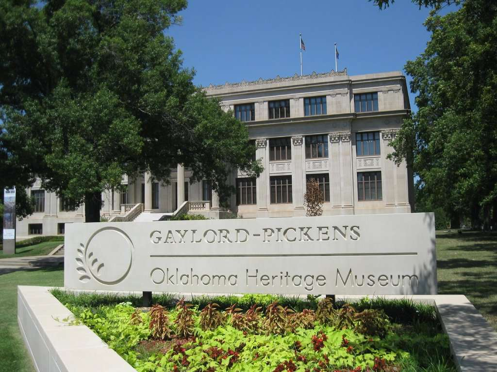 Oklahoma Hall of Fame at the Gaylord-Pickens Museum