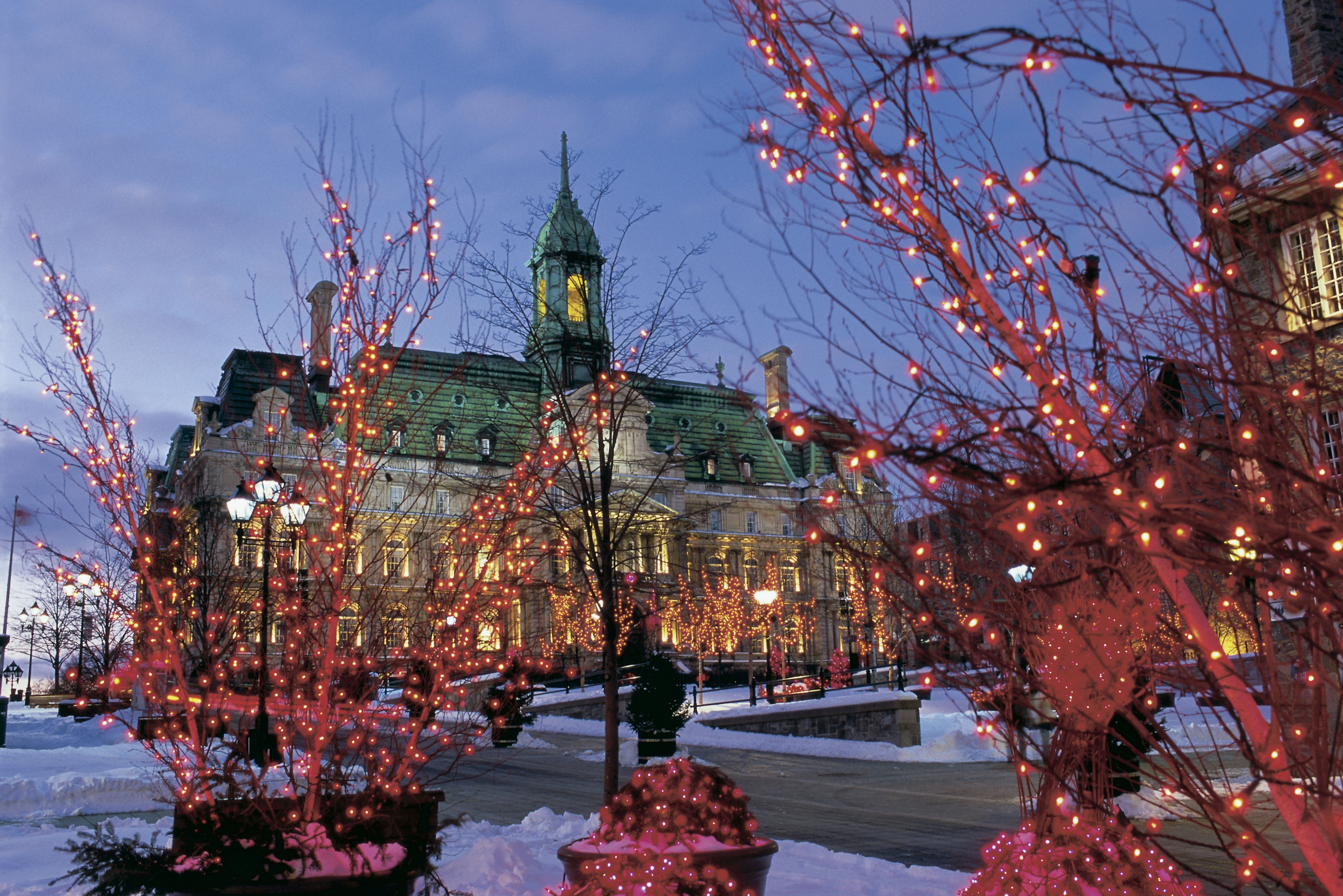 Things to Do for Christmas in Montreal