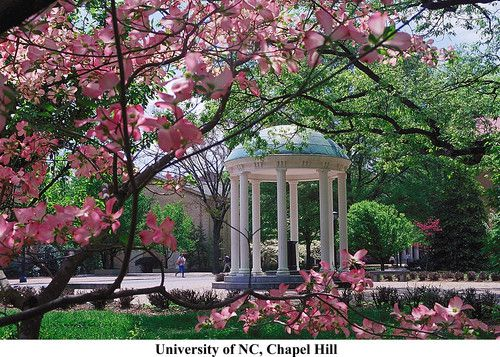top things to do in chapel hill carrboro with a map