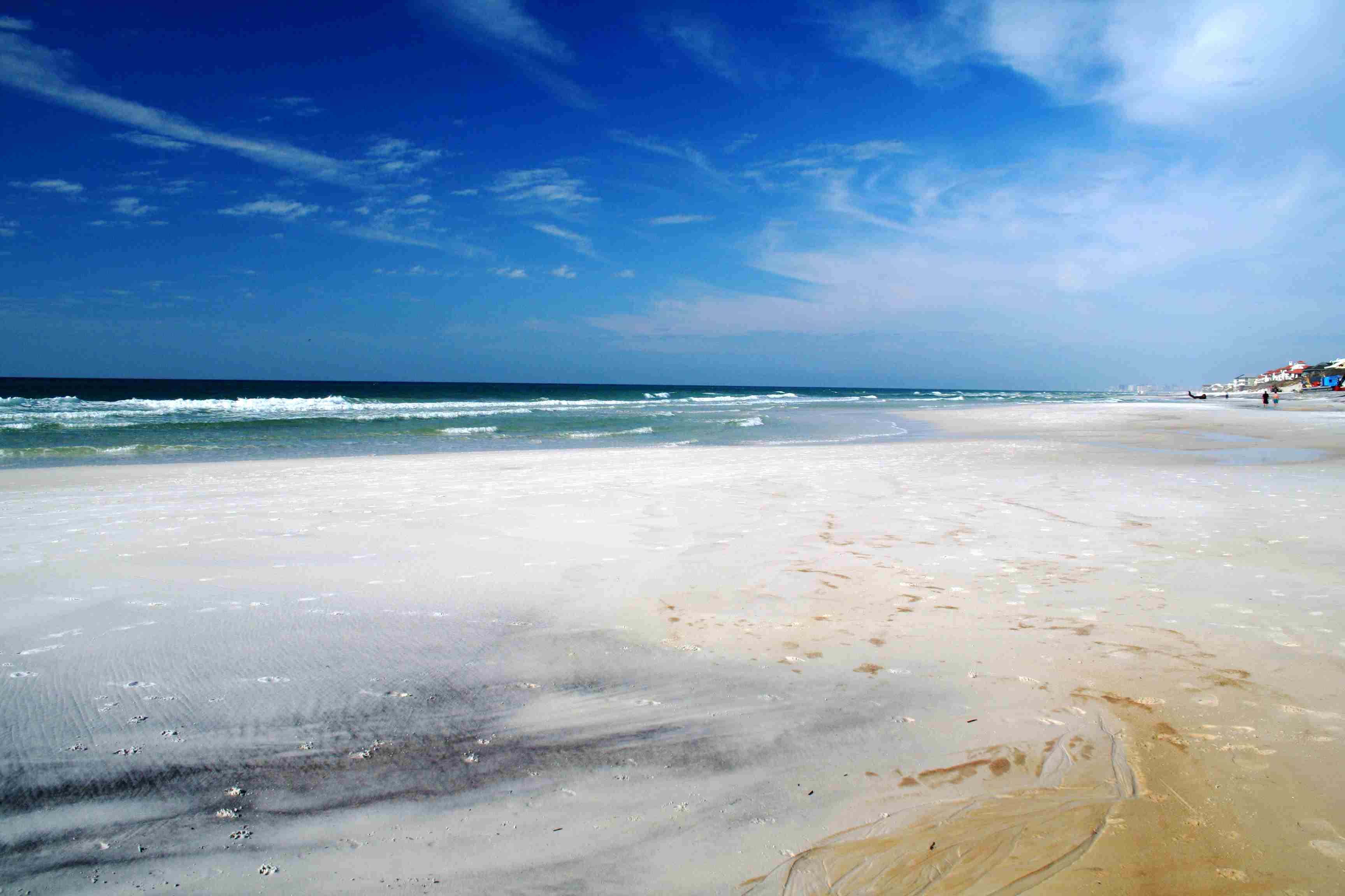 Sea shore of South Walton, Florida, USA.