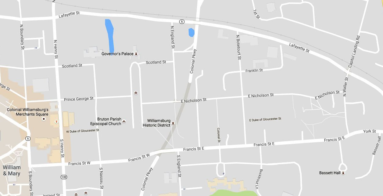 Historic Triangle Maps: Williamsburg-Jamestown-Yorktown on map of i 75, map of i 45, map of i 65, map of i 94, map of i 49, map of i 55, map of i 70 in missouri,
