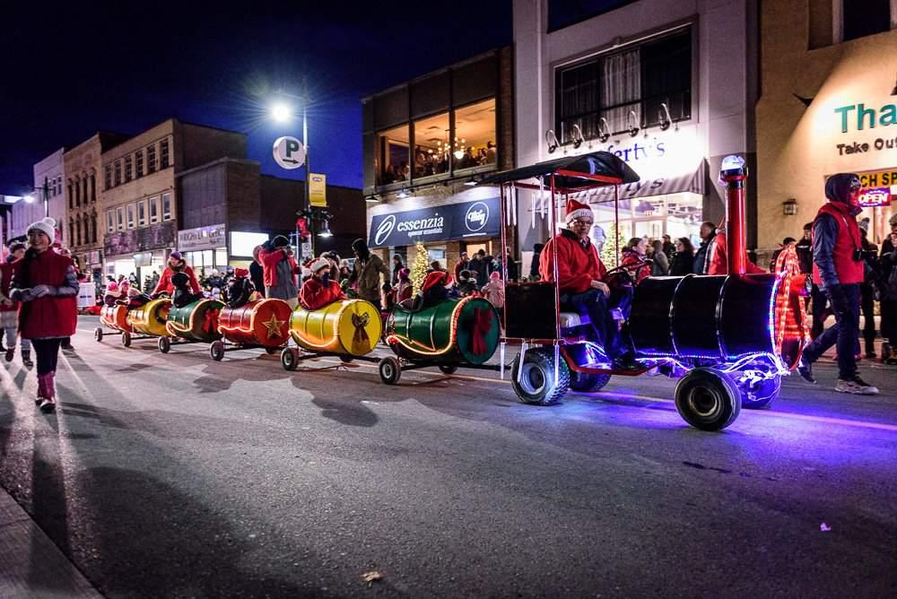 Santa Parade in Belleville