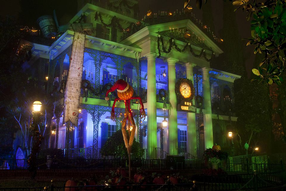 Haunted Mansion Holiday is on all month in November