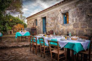 Dinner Al Fresco in Italy