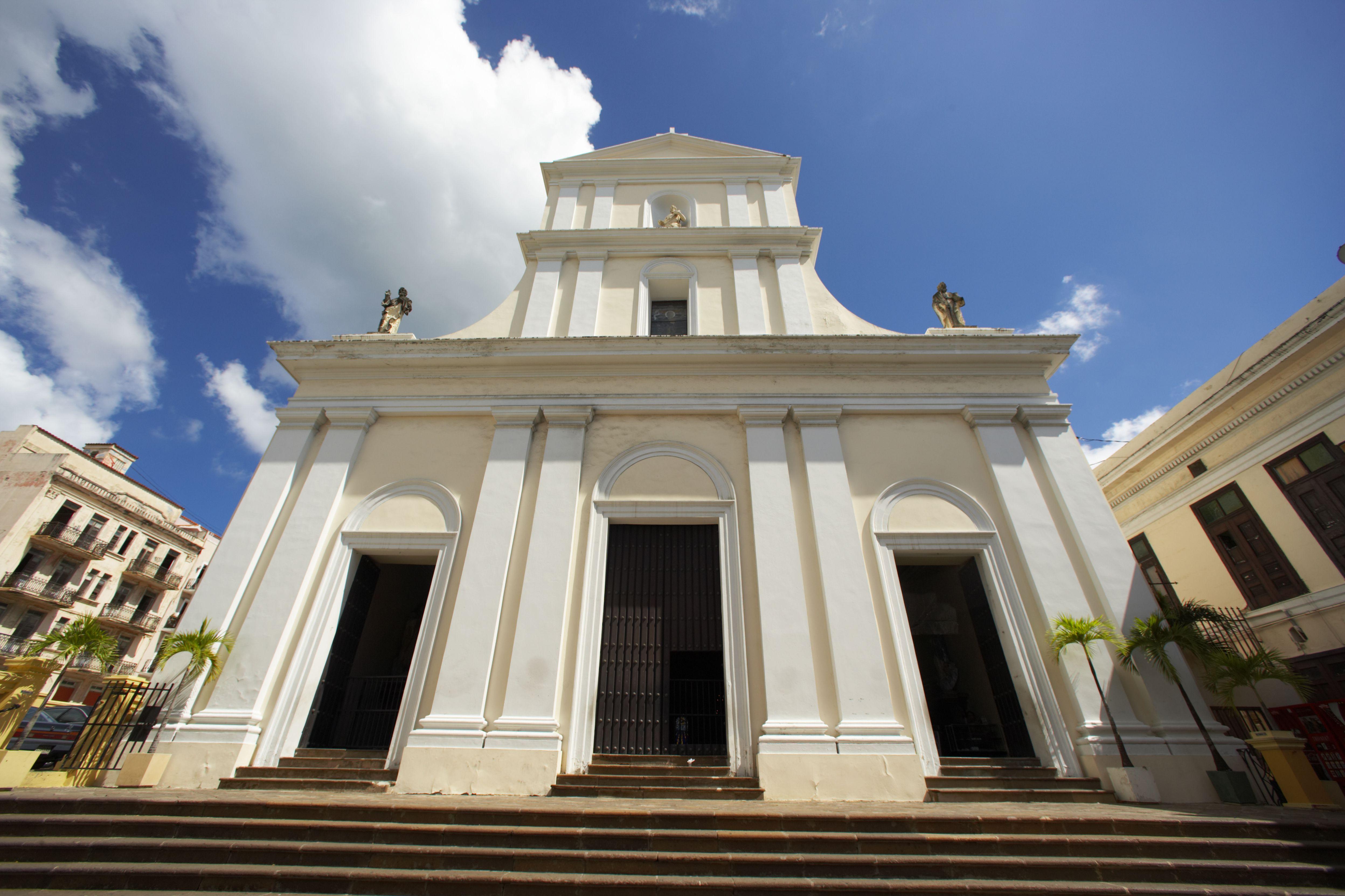 View of Catedral San Juan Bautista