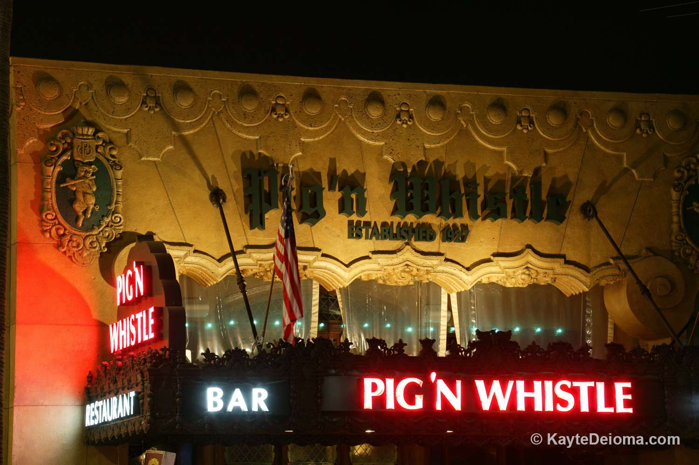 Pig 'N Whistle in Hollywood