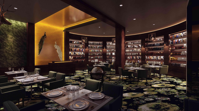Hotel Haya library
