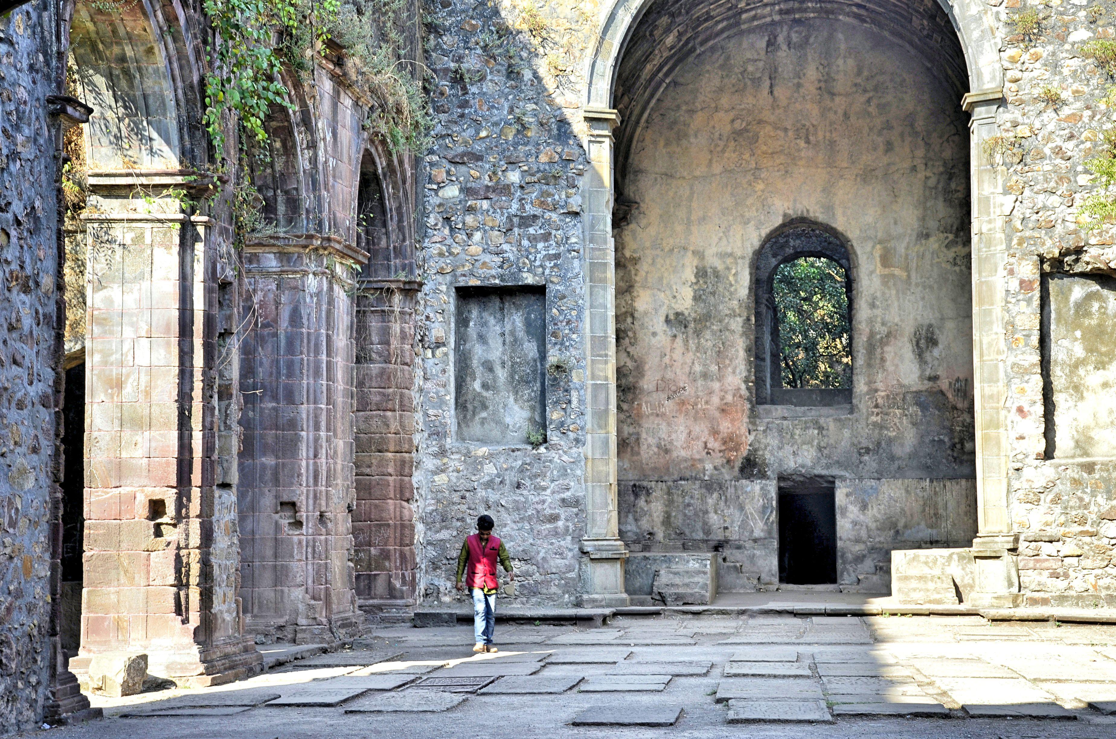 Saint Anthony's Franciscan church, Vasai Fort.