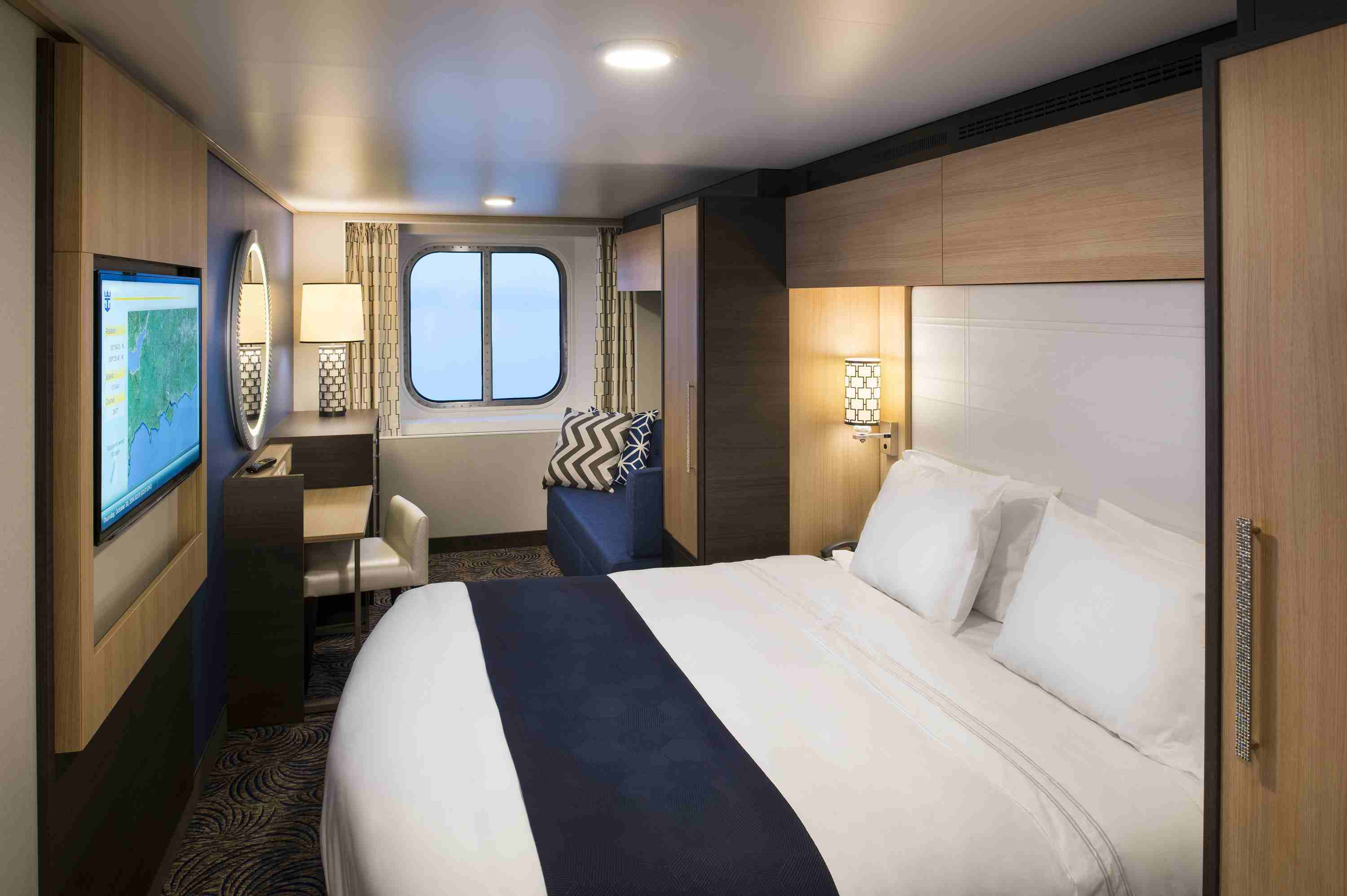 Anthem of the Seas Oceanview Cabin