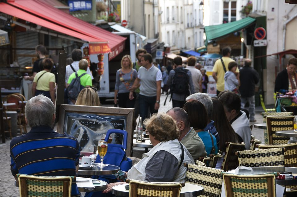 Rue Mouffetard is an ancient street featuring excellent outdoor market shops, charming bars, and more.