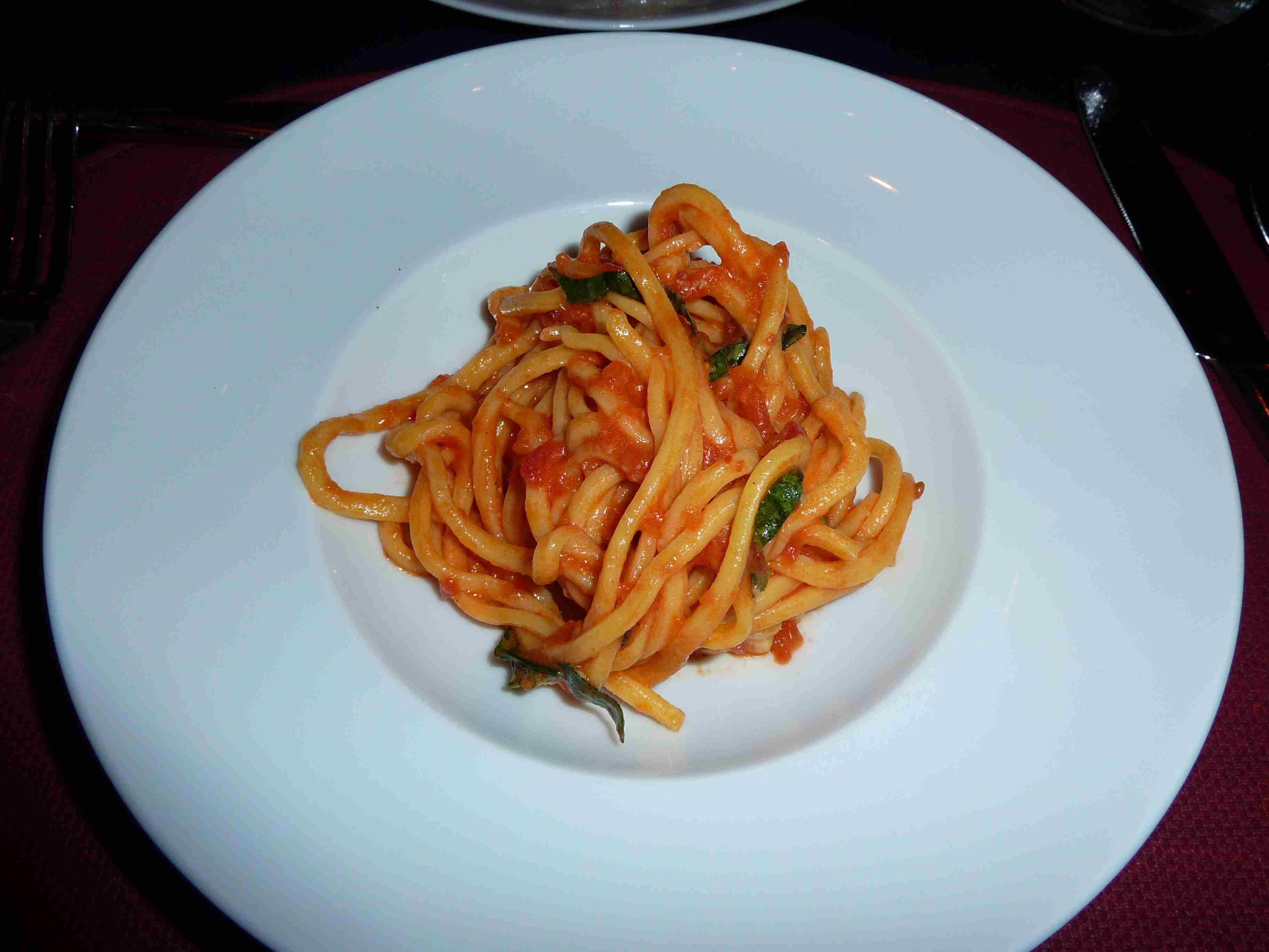 Scarpetta Las Vegas Spaghetti