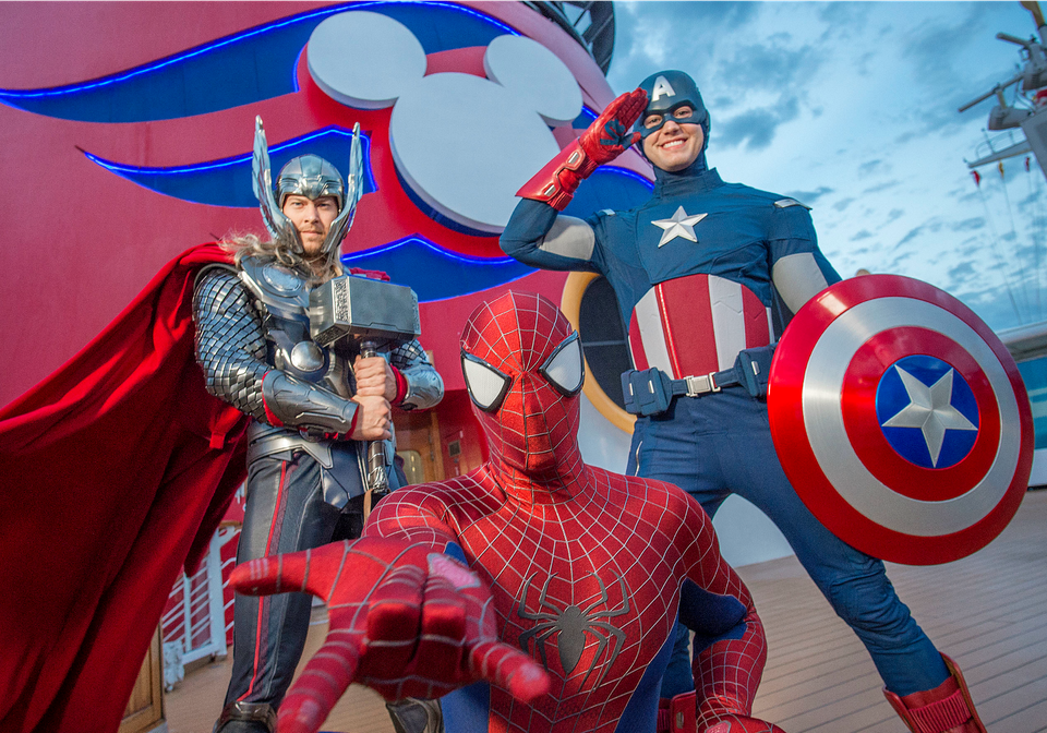 Marvel Super Heroes Join Disney Cruises