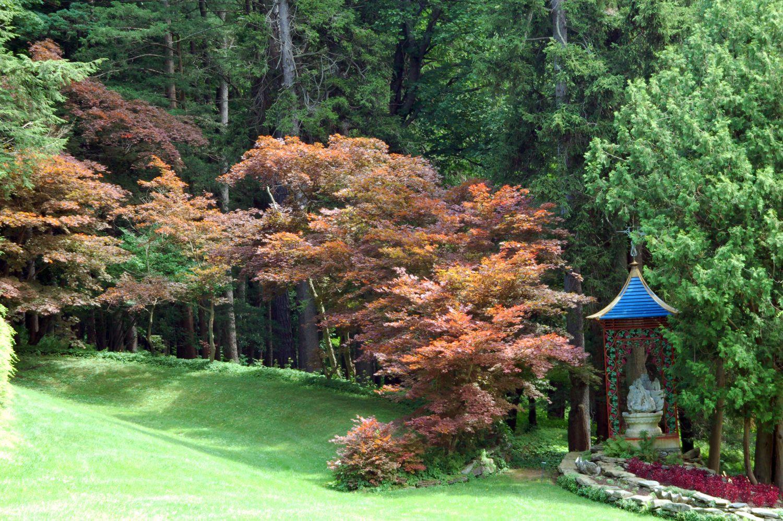 Naumkeag Gardens Stockbridge Massachusetts   Photo Tour