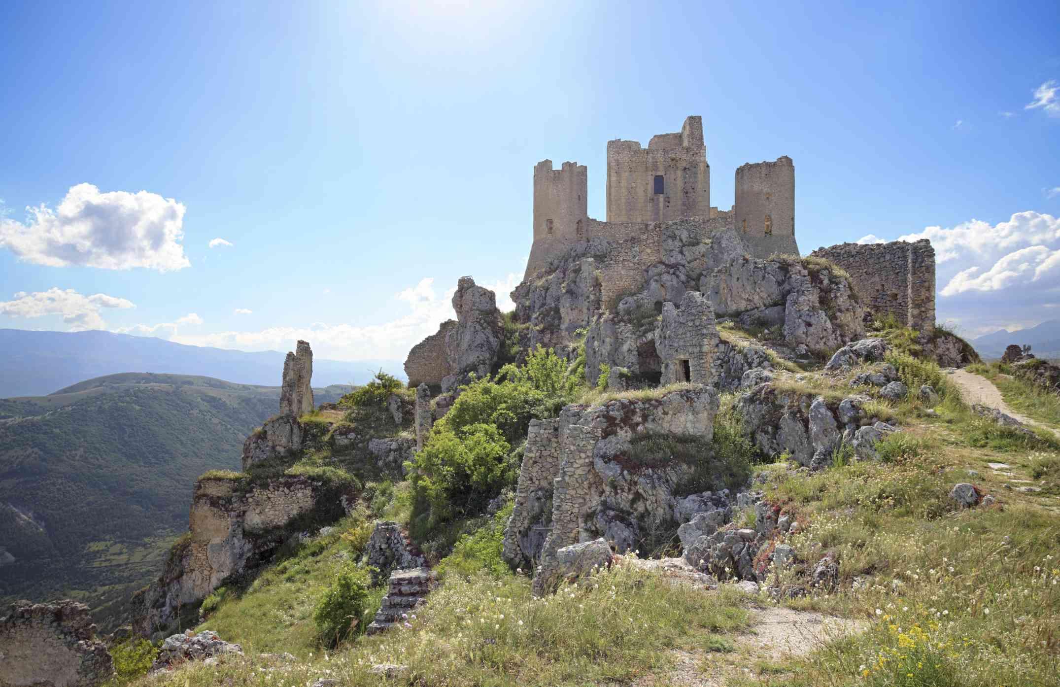 Rocca Calascio in Abruzzo, Italy