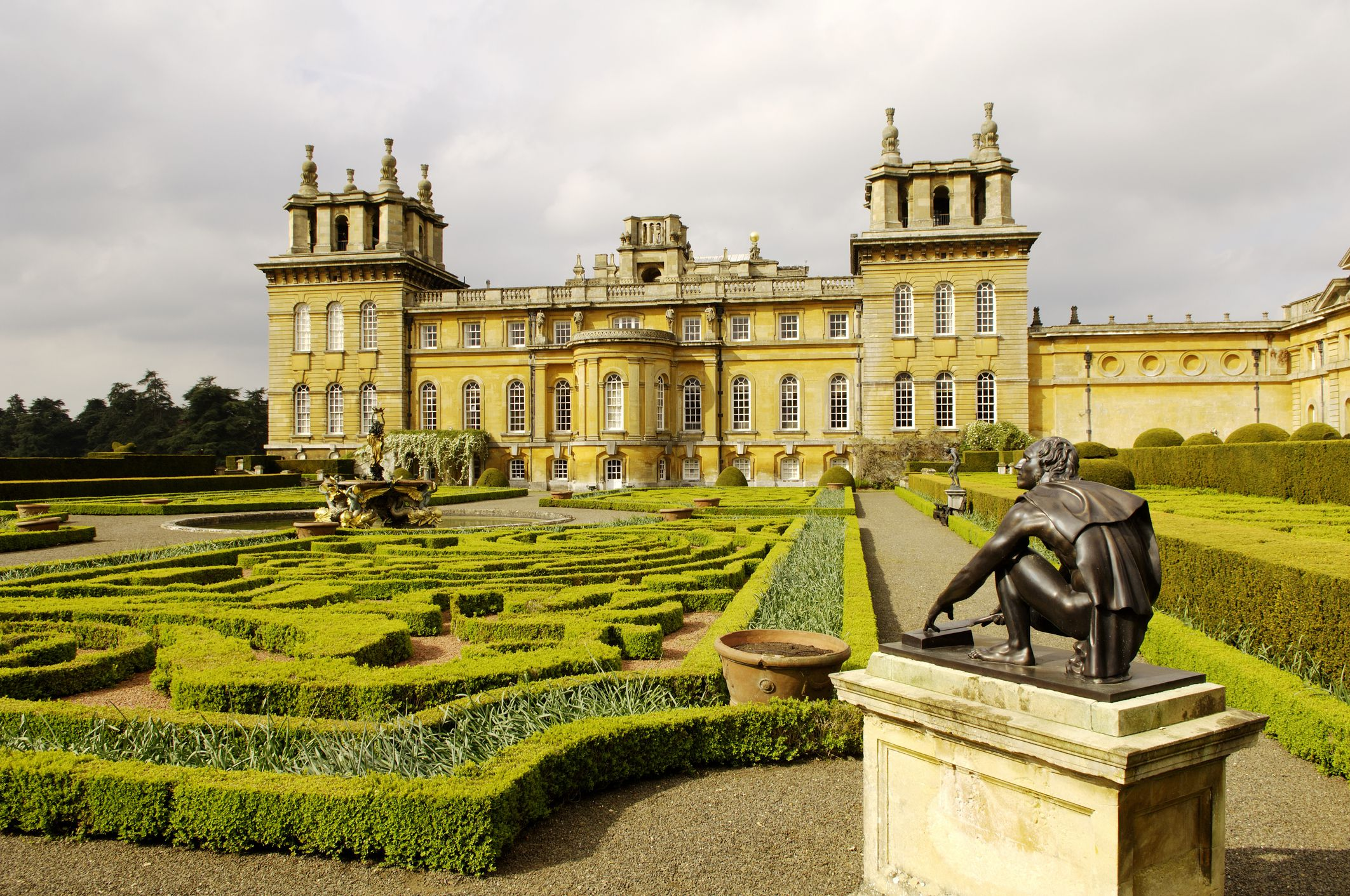 Blenheim Palace, Oxfordshire, UK