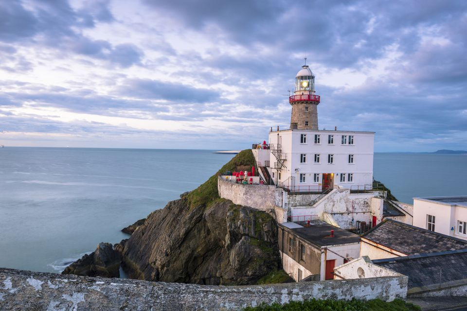 Ireland, County Dublin, Howth, Baily Lighthouse