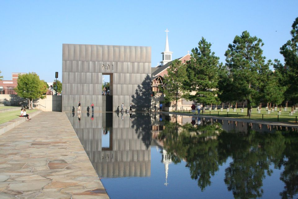 The Oklahoma City Memorial in Oklahoma City