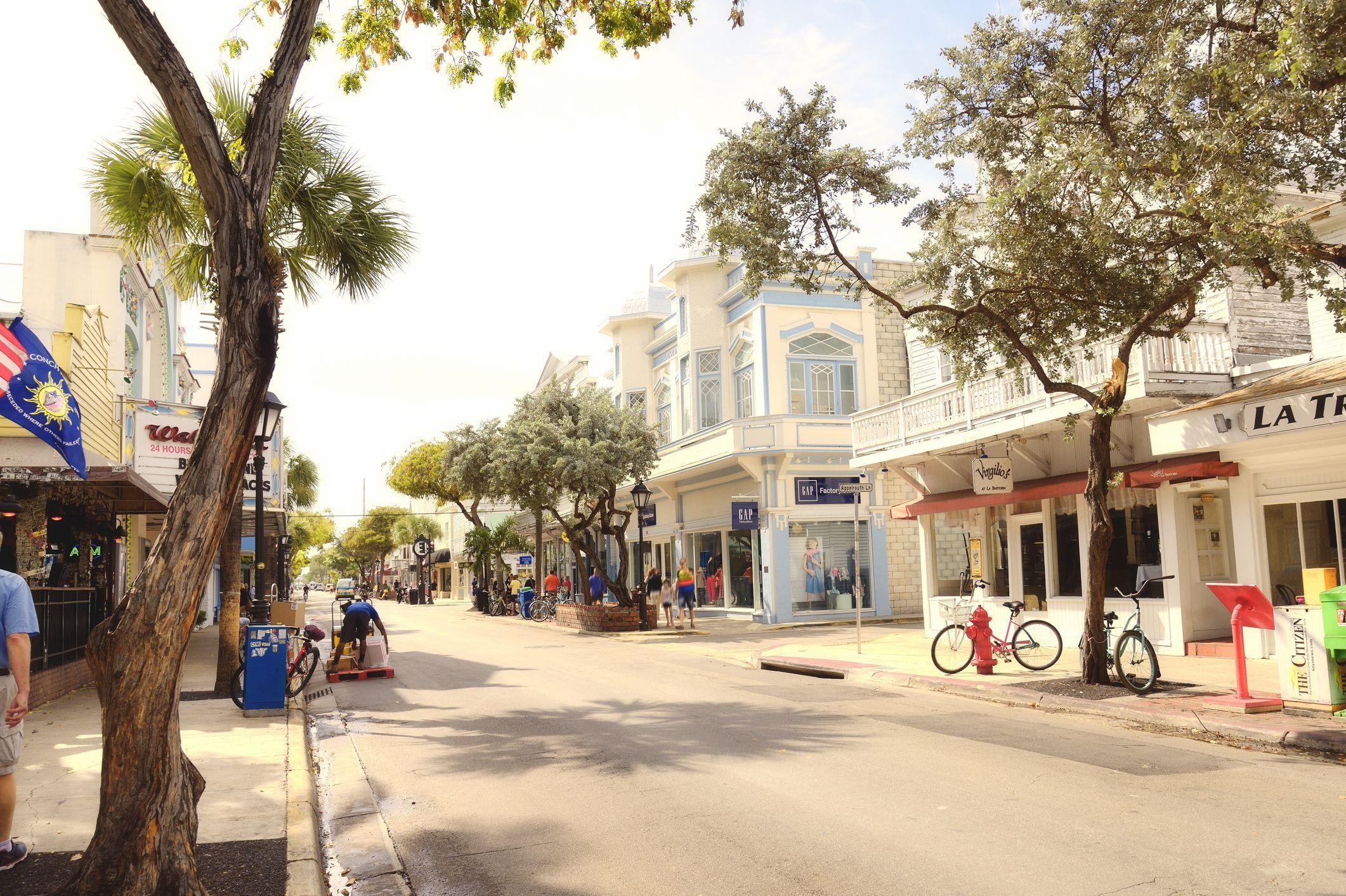 Duval Street, Key West, Florida, EE. UU.