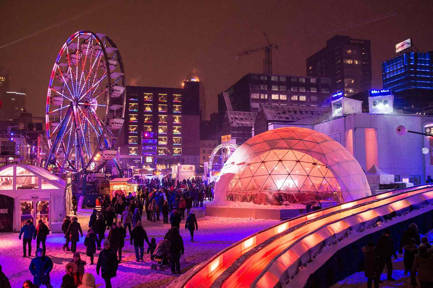 Village Mammouth at Montreal Olympic Park