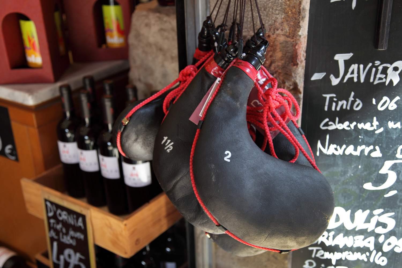 Bota - Leather Wine Bottle