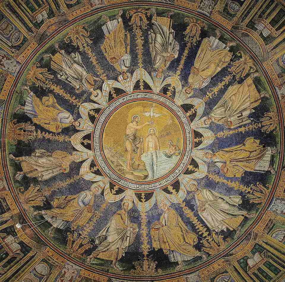 The Baptistry of Neon in Ravenna, Italy